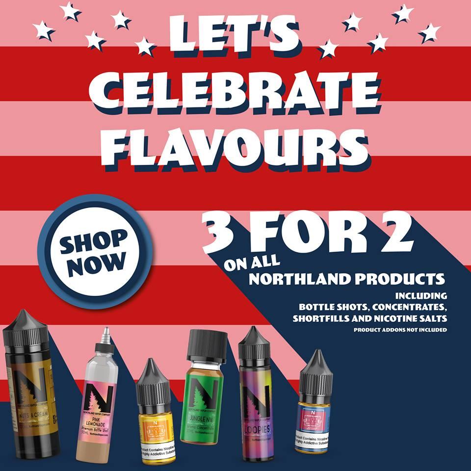 Northland Vapor E-Liquid Sale
