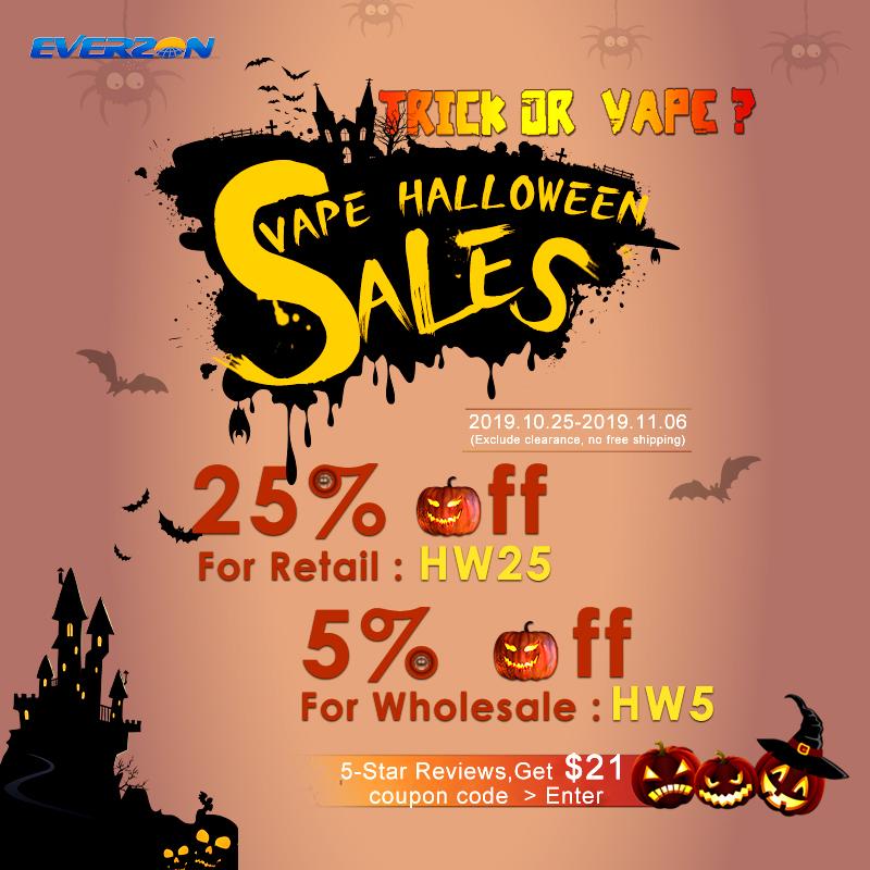 5% OFF Halloween Spooky Vape Sales