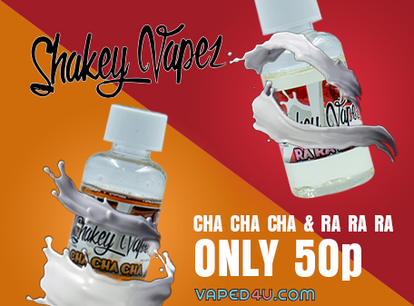 Shakey Vapez Clearance 50ml Shortfil – 50p