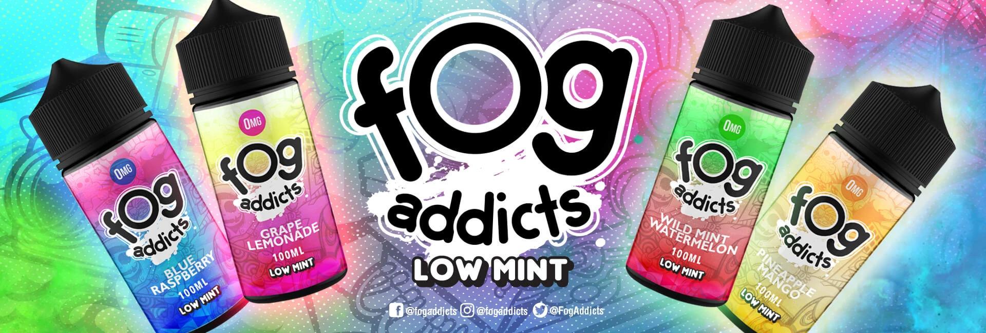 40% Off Fog Addicts E-Liquid