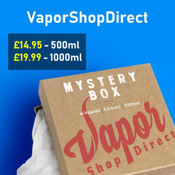 500ml E-Liquid Mystery Box – £14.95