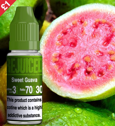Sweet Guava 10ml E-liquid – £0.95