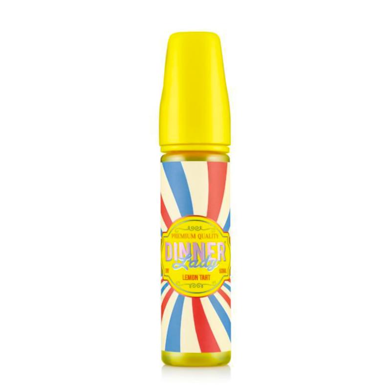 Dinner Lady Lemon Tart 50ml E-Liquid Shortfill – £8.99