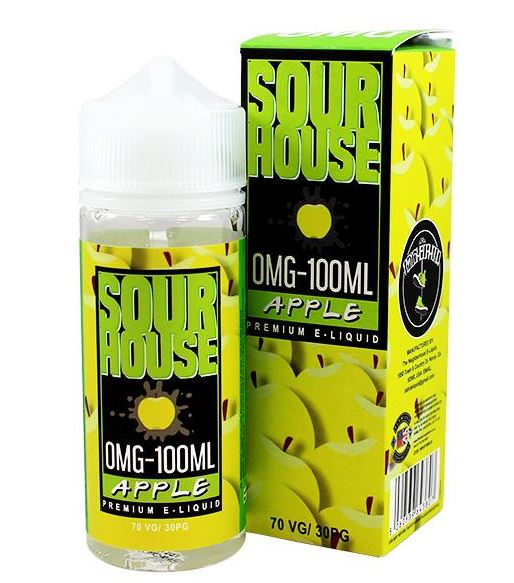 Apple 100ml Shortfill – £4.00 By Sour House