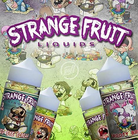 Strange Fruit Liquids 80ml Shortfill – £4.99