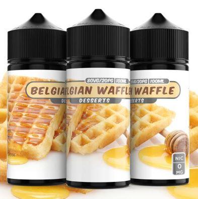 Belgian Waffle 100ml Shortfill – £4.99