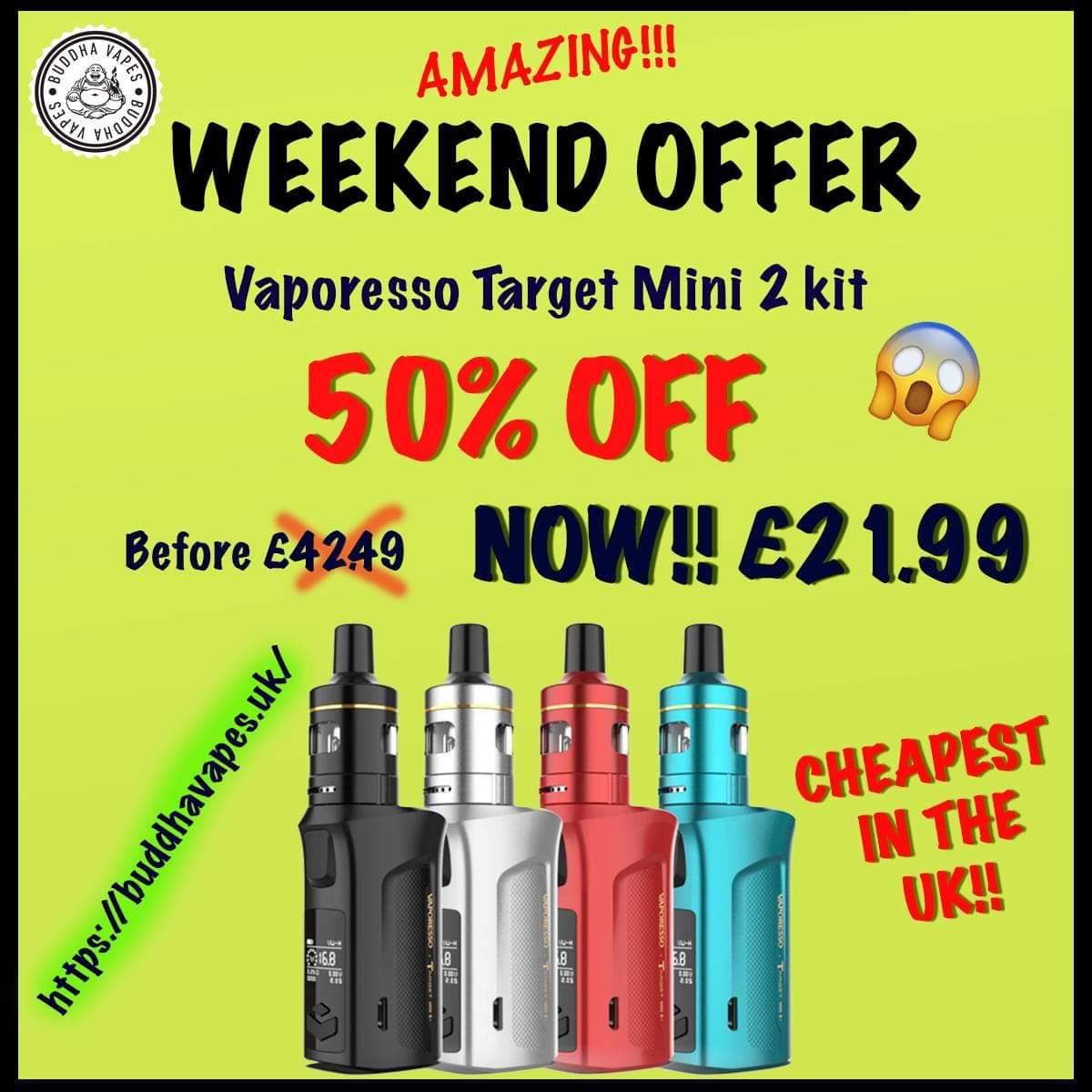 Vaporesso Target Mini 2 Kit – £21.99