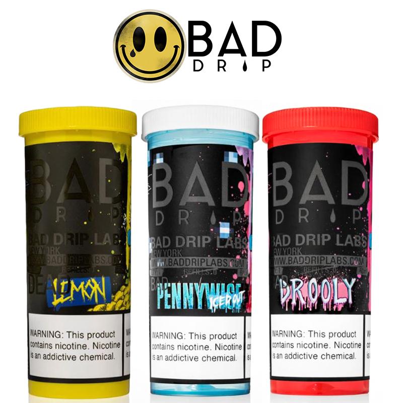 Bad Drip 50ml E-Liquid Shortfill – £9.49