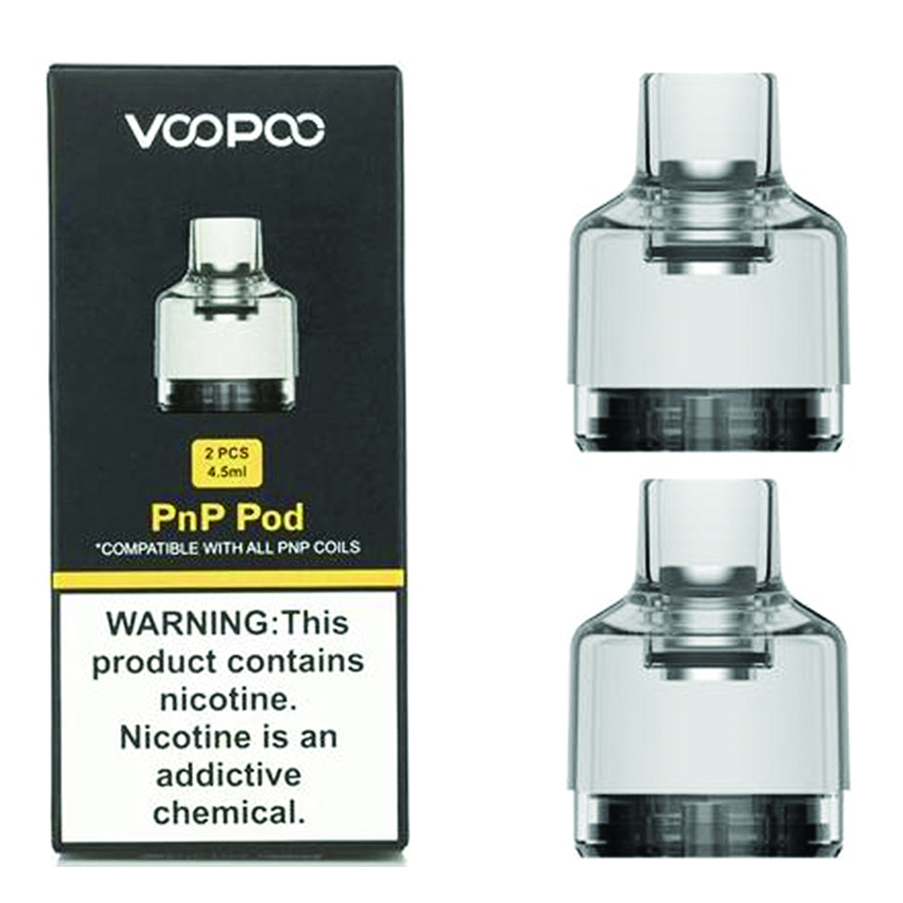 VOOPOO PnP Pods Replacement Cartridge x2 – £6.95