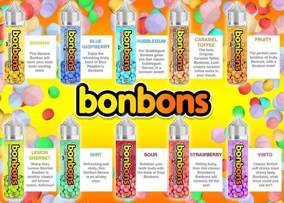 BonBons 50ml Liquid Shortfill – £2.49