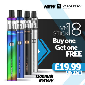 Vaporesso VM18 Stick x2 – £19.99