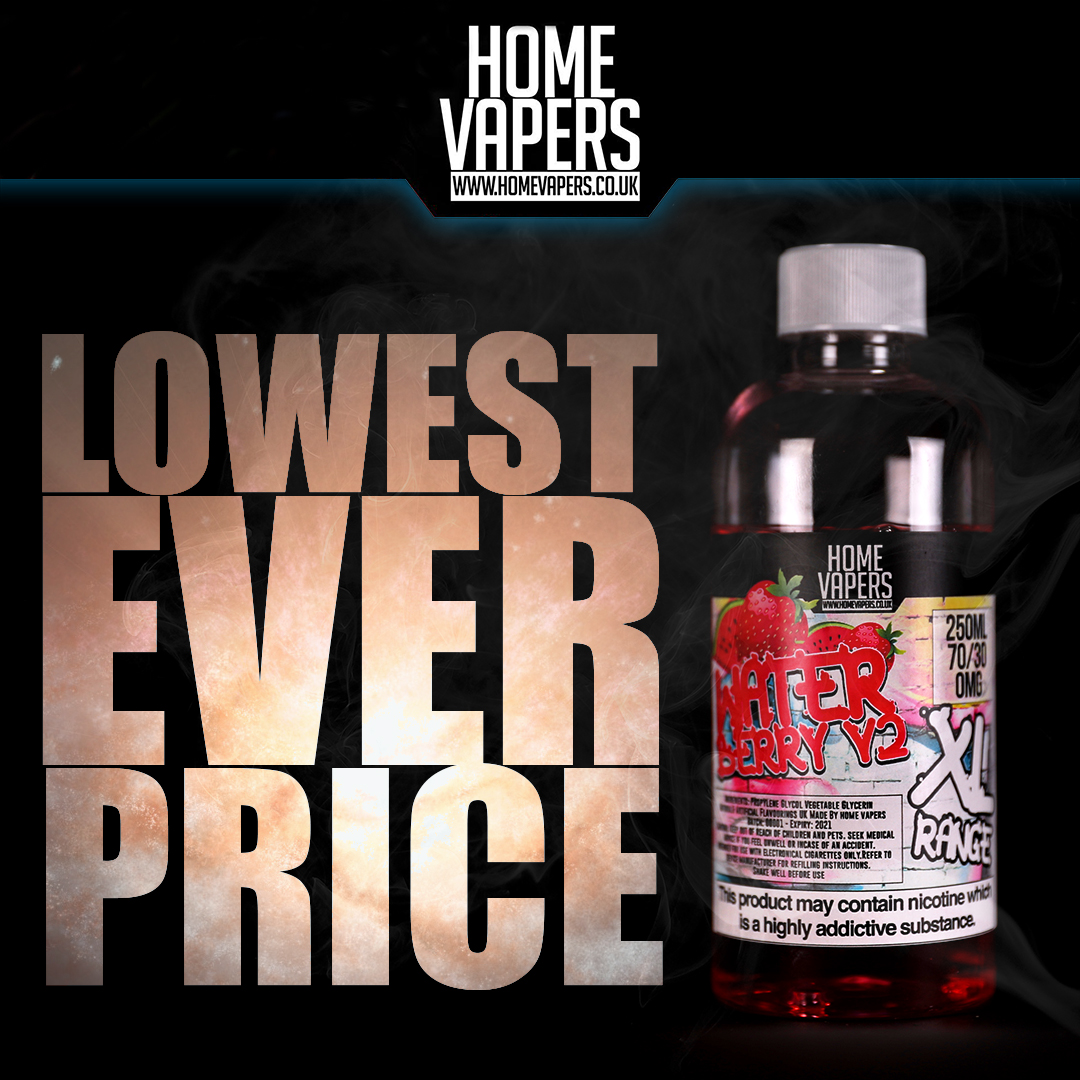 XL 250ml E-Liquid – £14.50