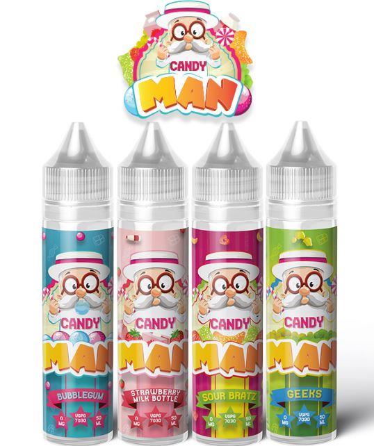 Candy Man 50ml E-liquid Shortfill – £4.49