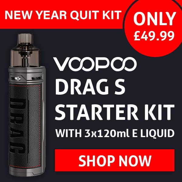 VooPoo Drag S Kit 3x 120ml – £49.99