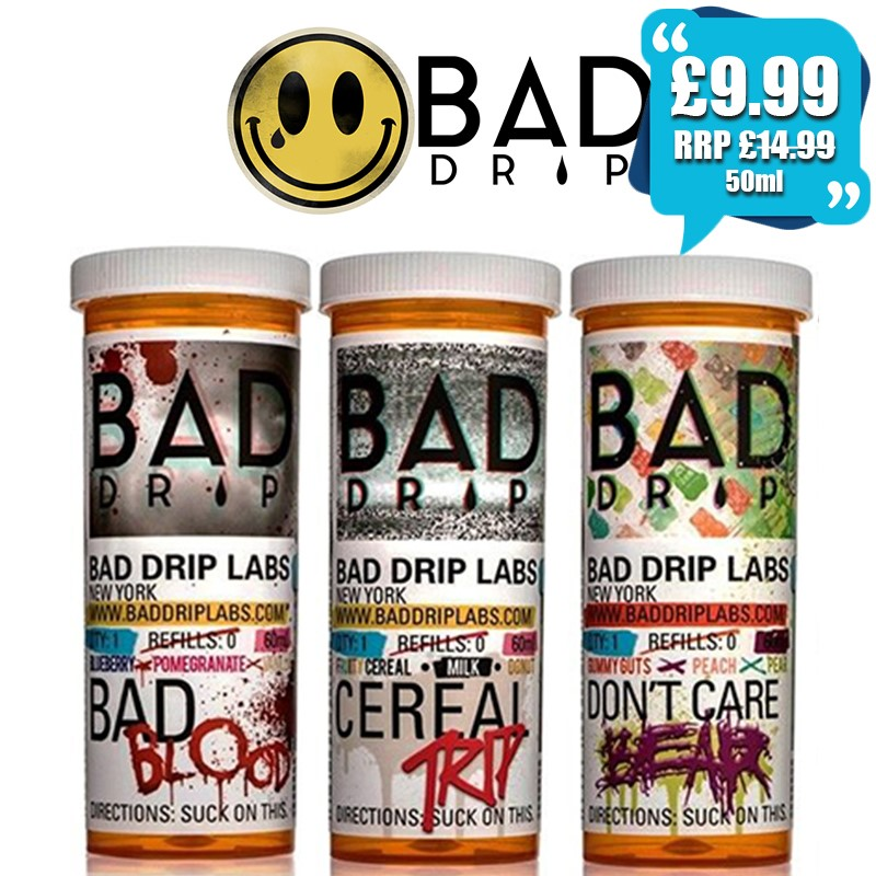 Bad Drip 50ml eliquid – £9.99