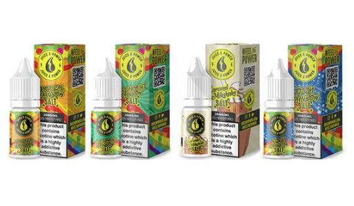 Juice & Power 10ml Nic Salts – £0.99