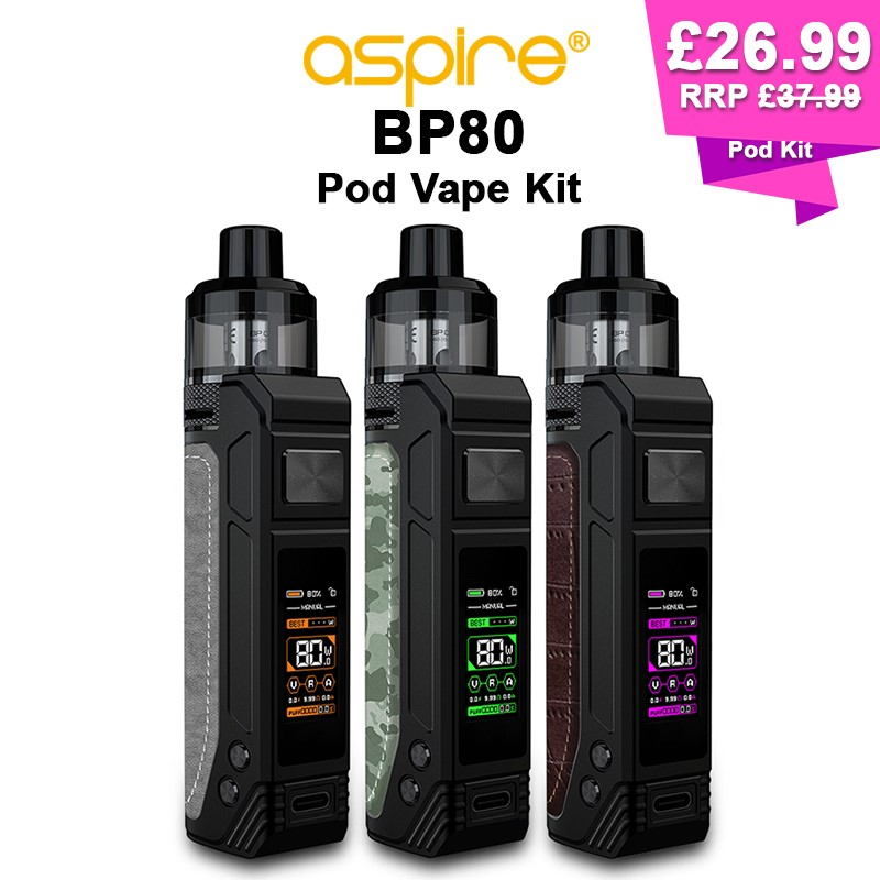Aspire BP80 Pod Kit – £26.99