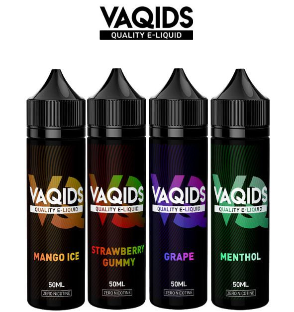 VaQids 50ml Shortfill E-Liquid – £2.84
