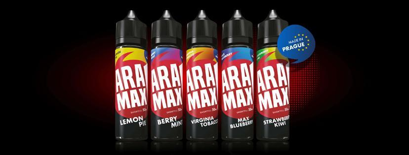 BANNER Aramax Flavor Shots 12ml 60ml fb cover