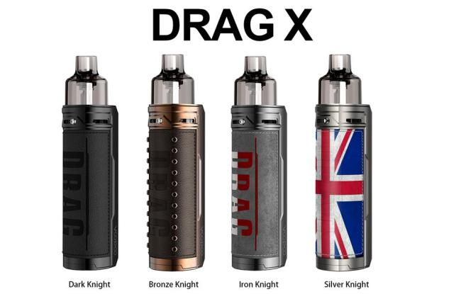 Voopoo Drag X Knight Series Pod all colors