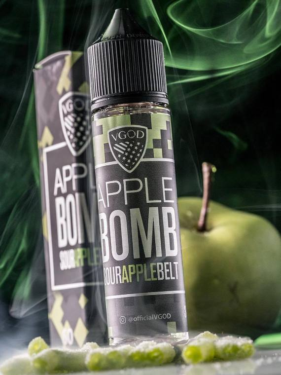APPLE BOMB - VGOD E-LIQUID - 60ML