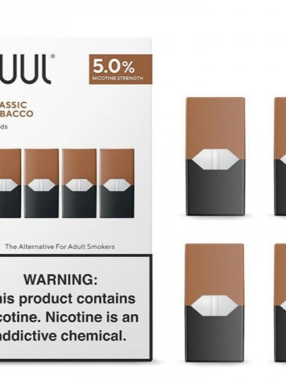 JUUL POD Classic Tobacco (pack of 4) 100% original