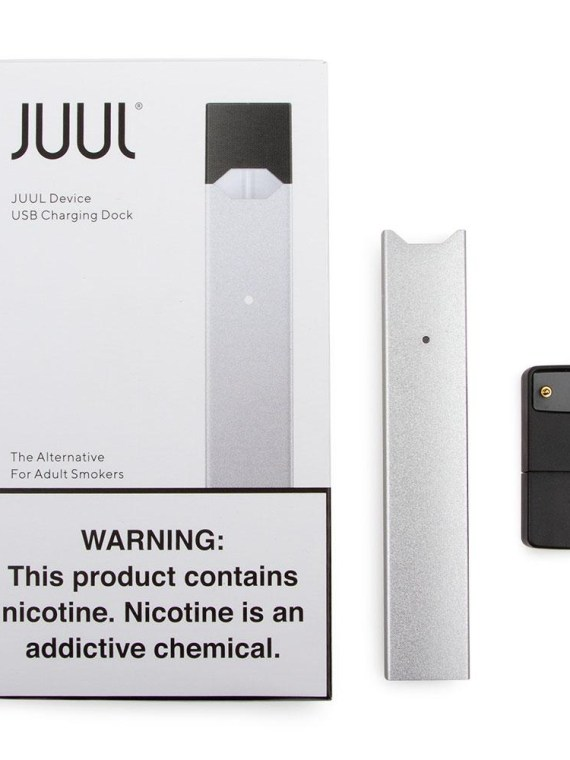 JUUL KIT: Best Juul Pod System Silver Kit in Dubai