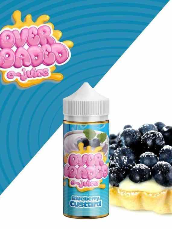 Blueberry Custard by OverLoaded - 120mL