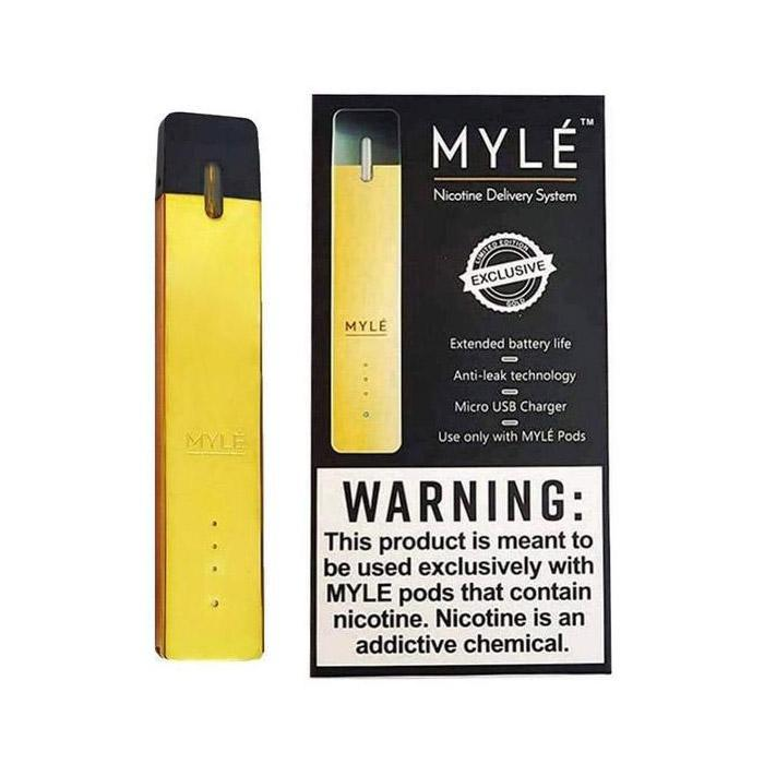 MYLE: Best MYLE Nicotine Delivery System (GOLD Edition)
