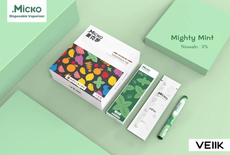 Micko Disposable Vaporizer By Veiik 3 Pieces