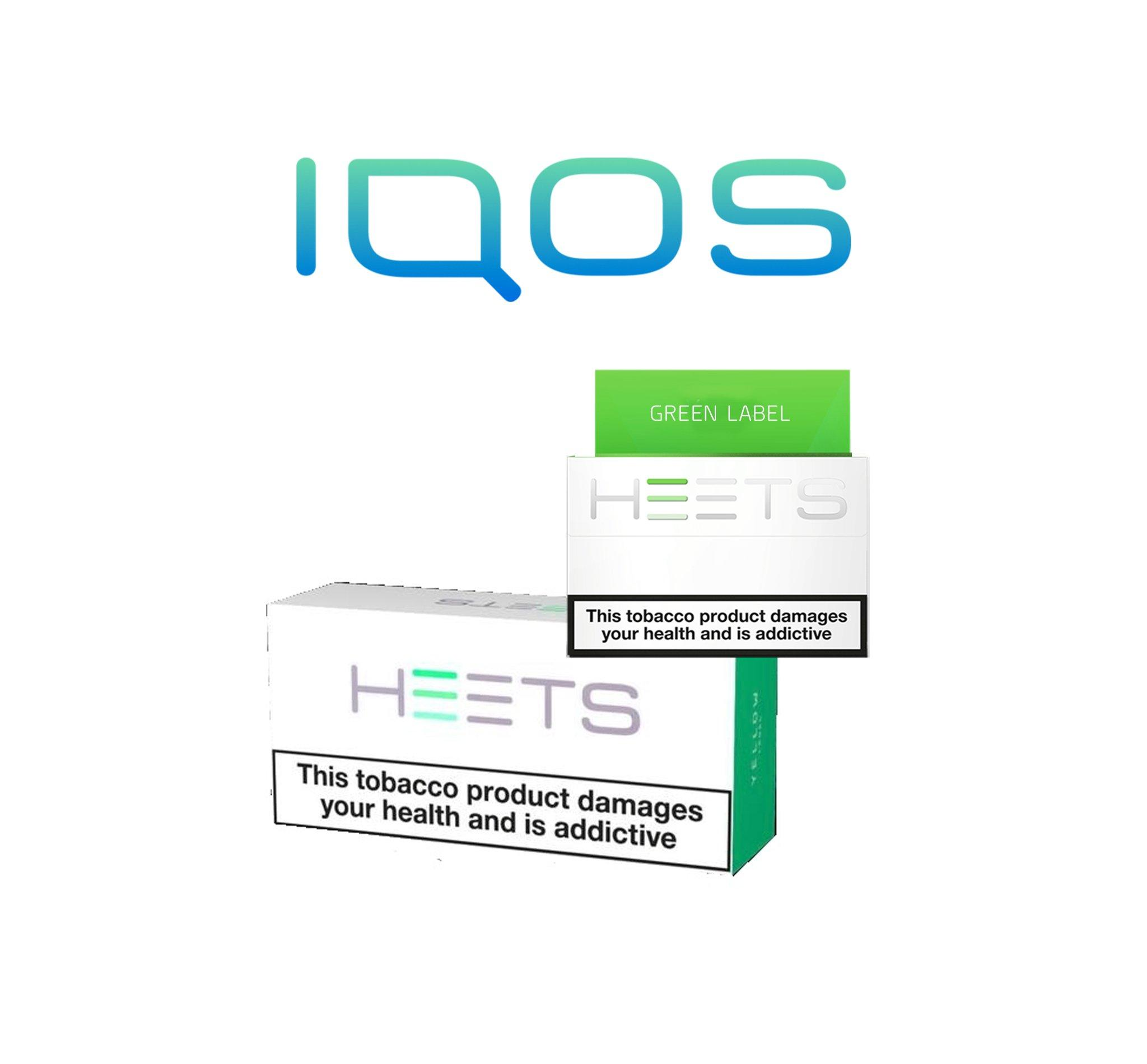 IQOS Heets Green Label