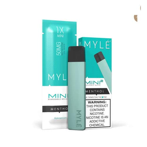 Top Menthol: MYLE Mini 2 Slim Disposables Device - vapedubaicity.com