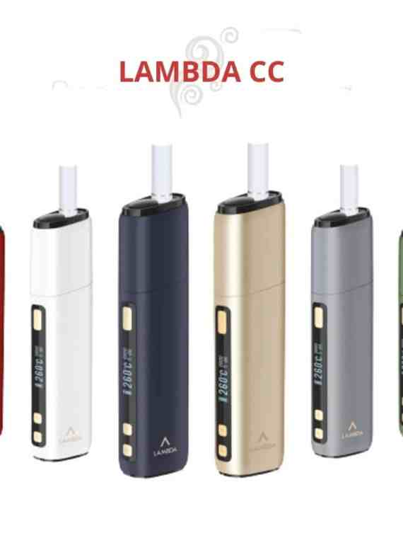 LAMBDA CC Heat Not Burn Device Starter Kits for Tobacco Sticks