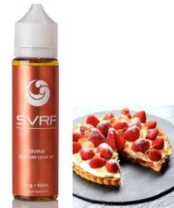 DEVINE Strawberry Cream Tart