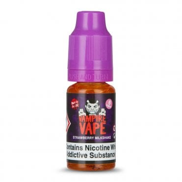Strawberry Milkshake E Liquid (10ml)