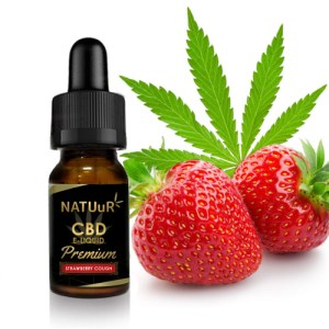 NATUuR CBD E-Liquid PREMIUM  Strawberry Cough