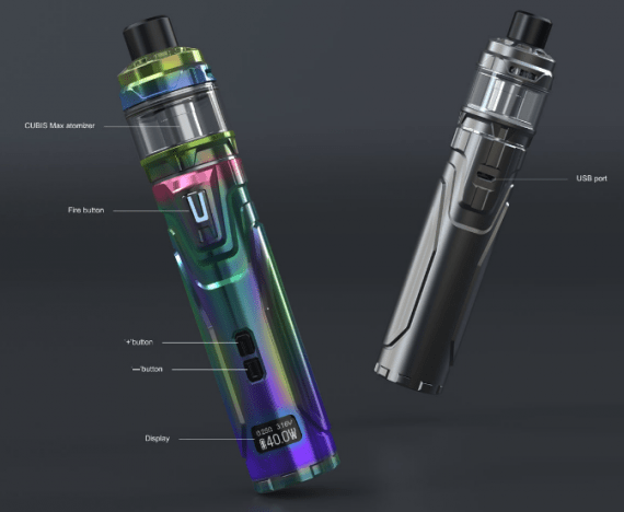 Joyetech Ultex T80 with Cubis Max kit is another adjustable pipe modem with an innovative atomizer ...