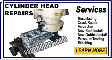 Cylinder head repair shop