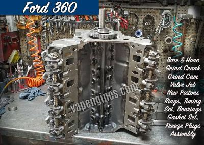 Ford 360 Engine Rebuild Machine Shop