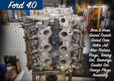 Ford 4.0 Engine Rebuild Machine Shop