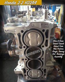 Honda 2.2 H22A4 Engine Rebuild Machine Shop