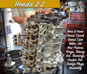 Honda 2.2 Engine Repair Machine Shop