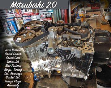 Mitsubishi 2.0 Engine Rebuild Machine Shop