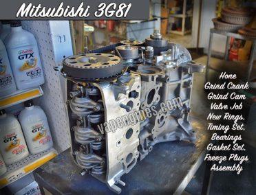 Mitsubishi Minicab 3G81 engine rebuild machine shop