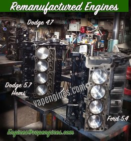 Remanufactured Engine Builder Machine Shop