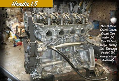 Honda 1.5 Engine Repair Machine Shop