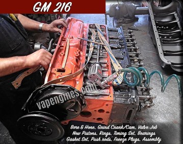 Los Angeles GM 216 Engine Rebuilding