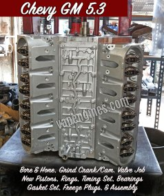 Chevy GM 5.3 Engine Rebuilding