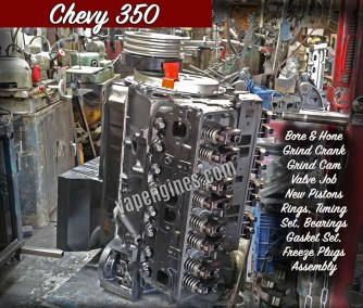 Chevy 350 Engine Rebuild Machine Shop