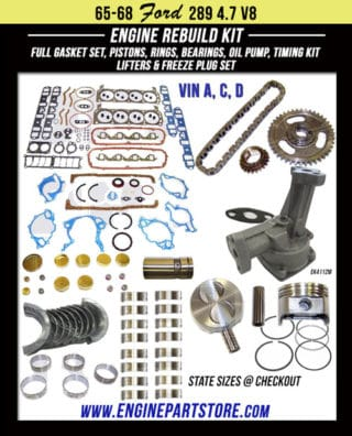 Ford 289 engine kits